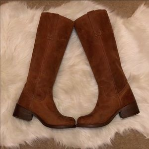 Steve Madden Tall Leather Boots 7